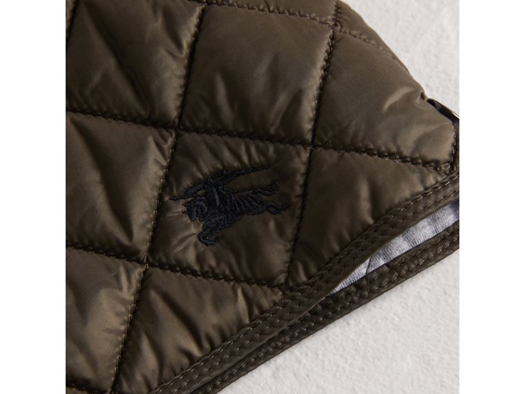 Lightweight Diamond Quilted Jacket in Oregano - Boy | Burberry - cell image 1
