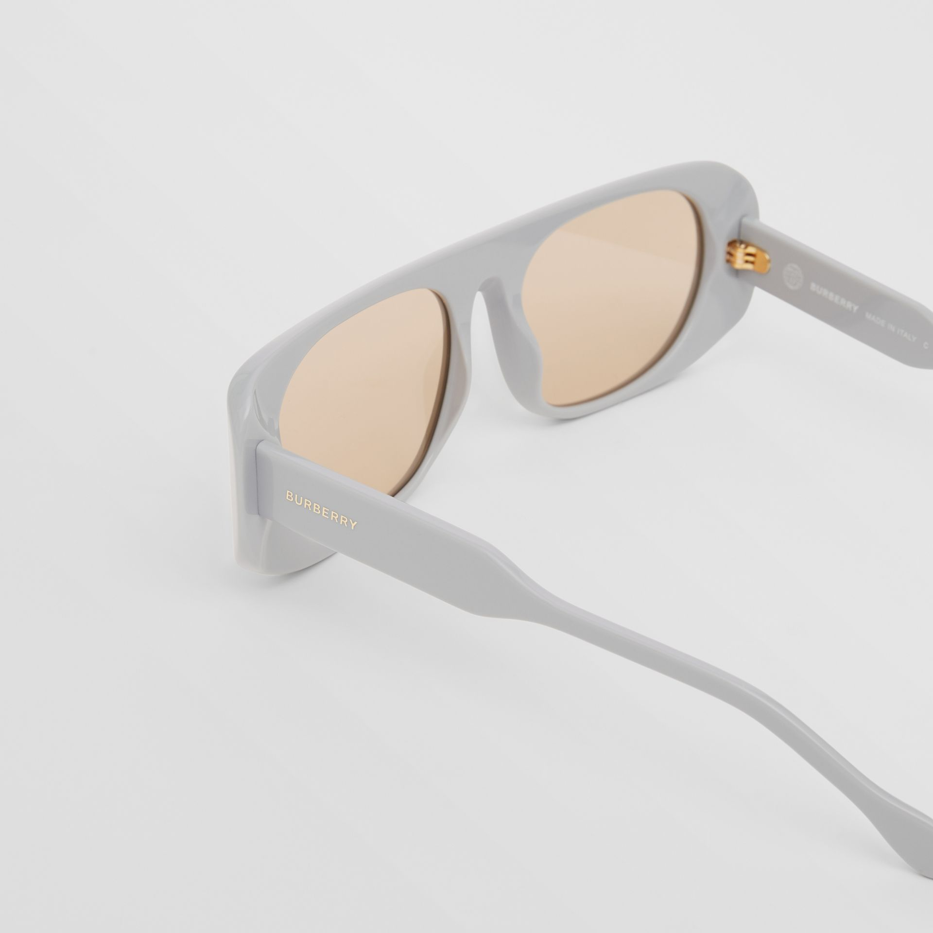 Blake Sunglasses in Grey | Burberry Australia - gallery image 1