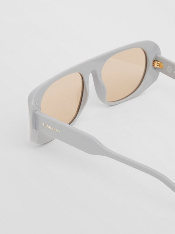 Blake Sunglasses in Grey | Burberry Australia - cell image 1