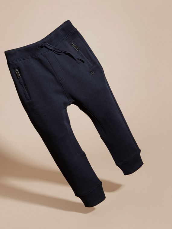 Dark navy Cotton Sweat Pants Dark Navy - cell image 2