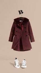 Wool Cashmere Military Coat