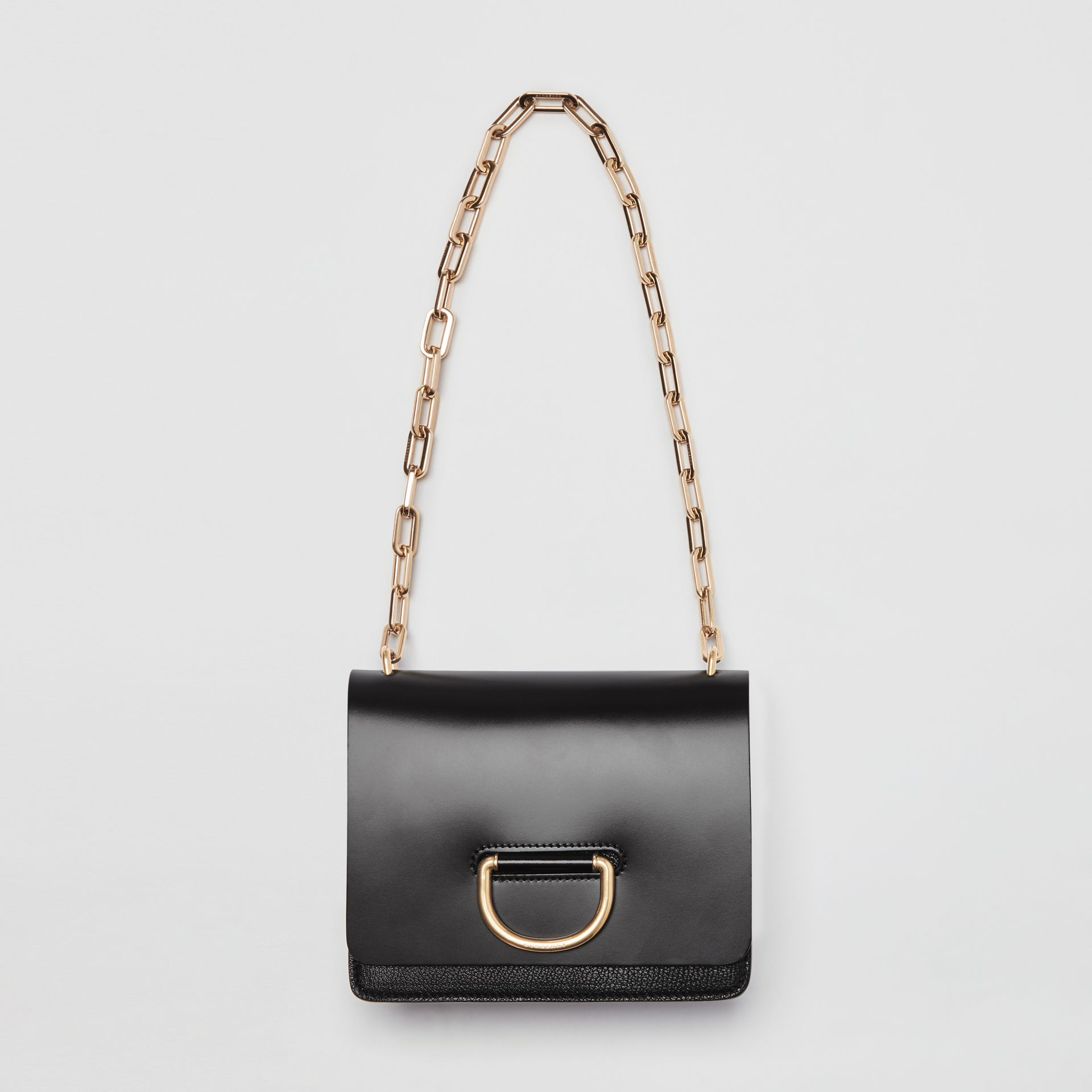Petit sac The D-ring en cuir (Noir) - Femme | Burberry Canada - photo de la galerie 4