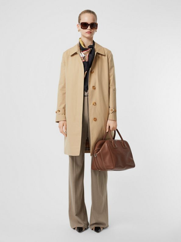 The Pimlico Heritage Car Coat in Honey
