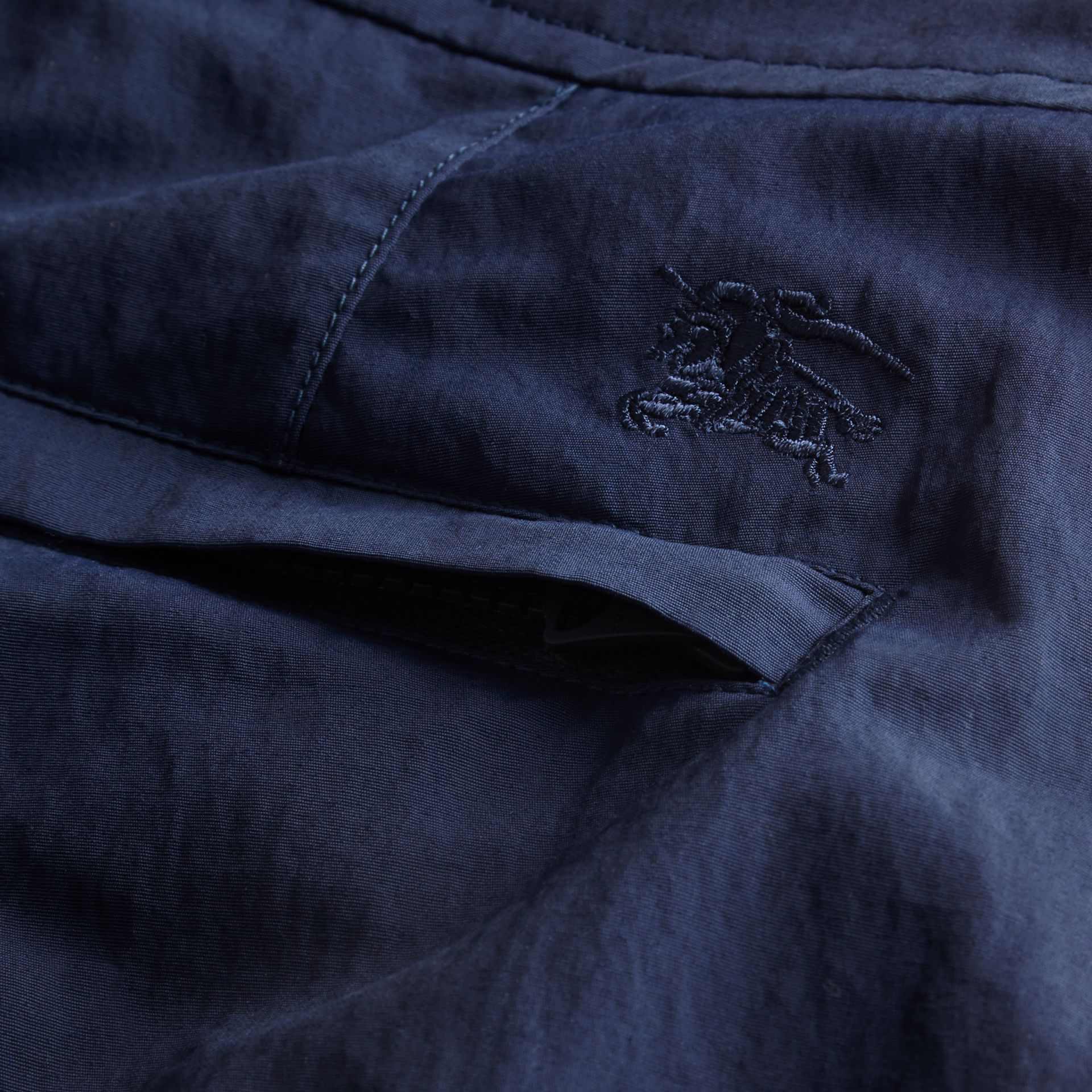 Tailored Swim Shorts in Bright Navy - Men | Burberry - gallery image 2