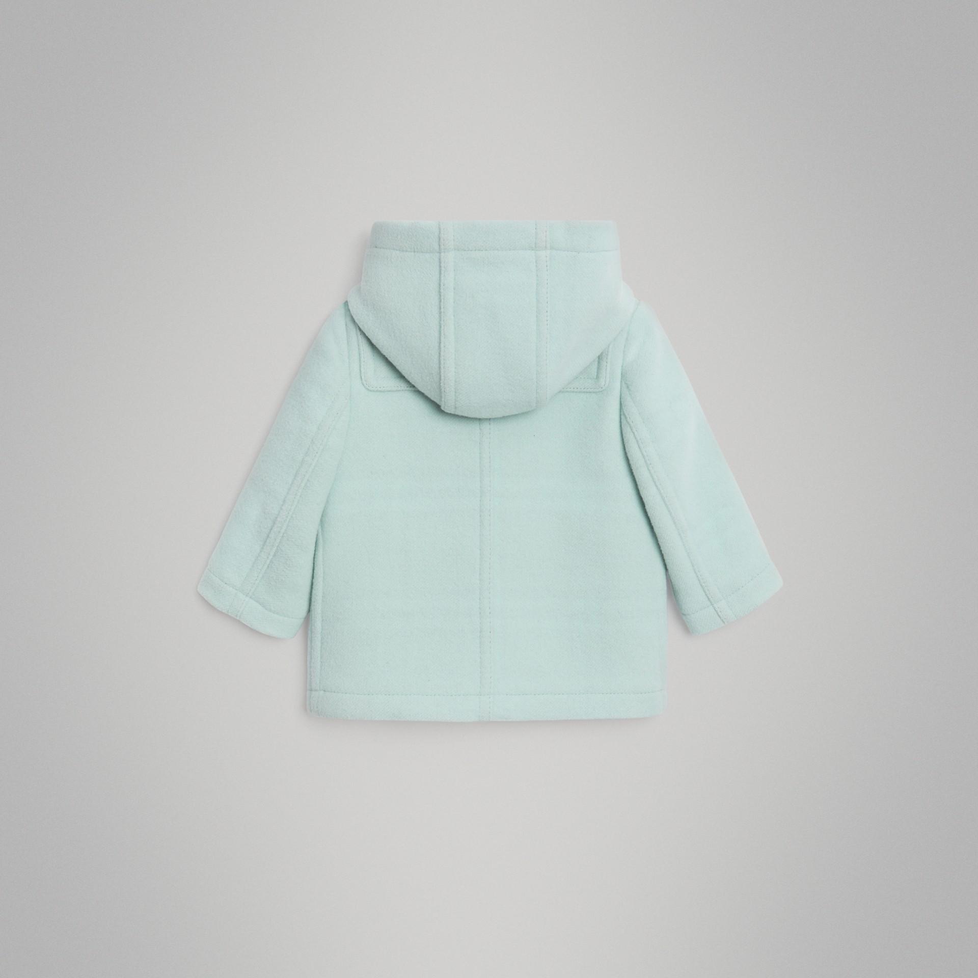 Duffle coat de lã (Menta Claro) | Burberry - galeria de imagens 3