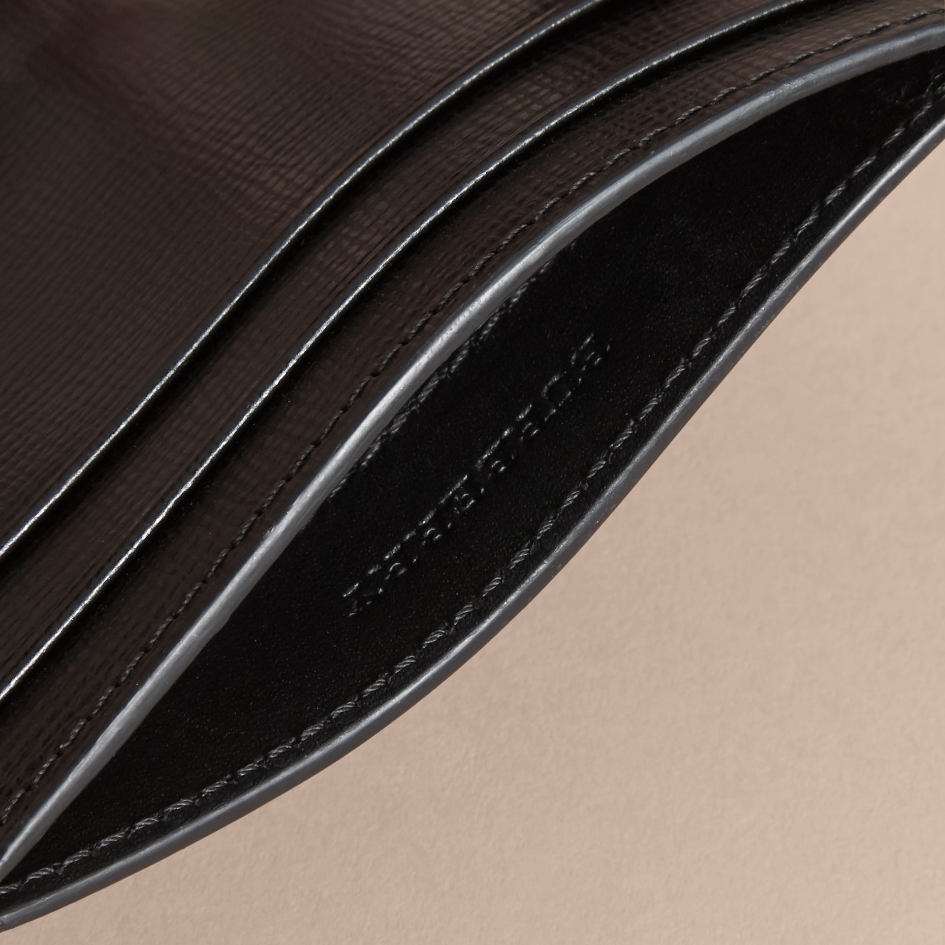 Beasts Motif Leather Card Case - Men | Burberry - gallery image 4