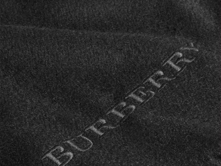Cashmere Blanket in Black | Burberry Hong Kong - cell image 1