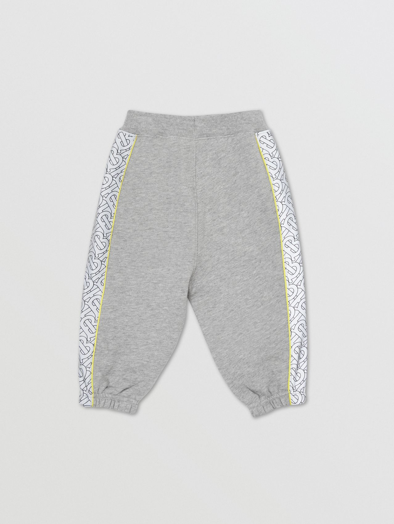 Pantalon de survêtement en coton Monogram in Camaïeu  Gris