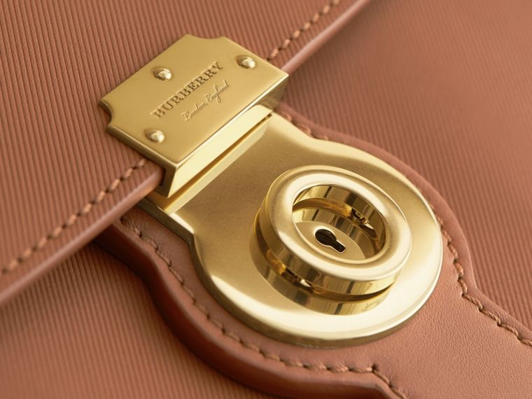 The Large DK88 Top Handle Bag in Bright Toffee - cell image 4