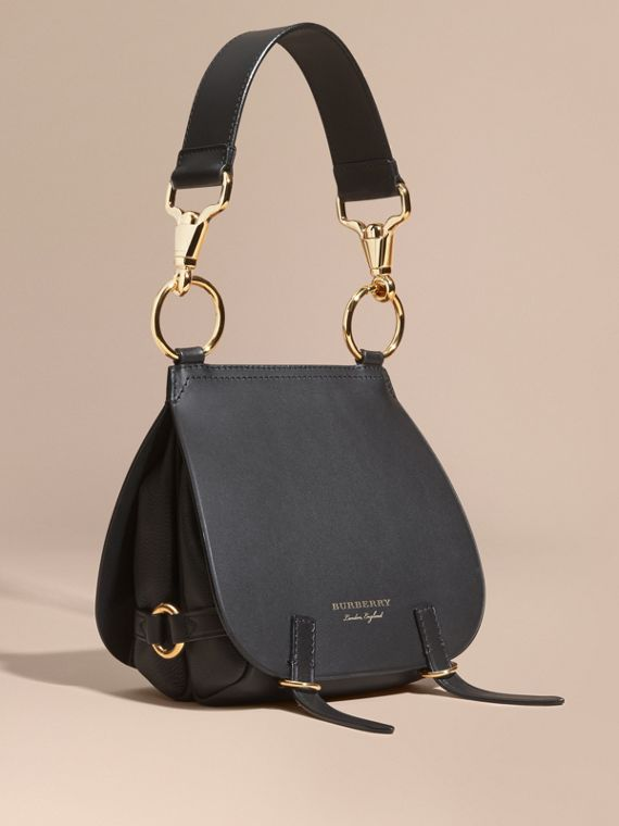 The Bridle Bag in Leather in Black