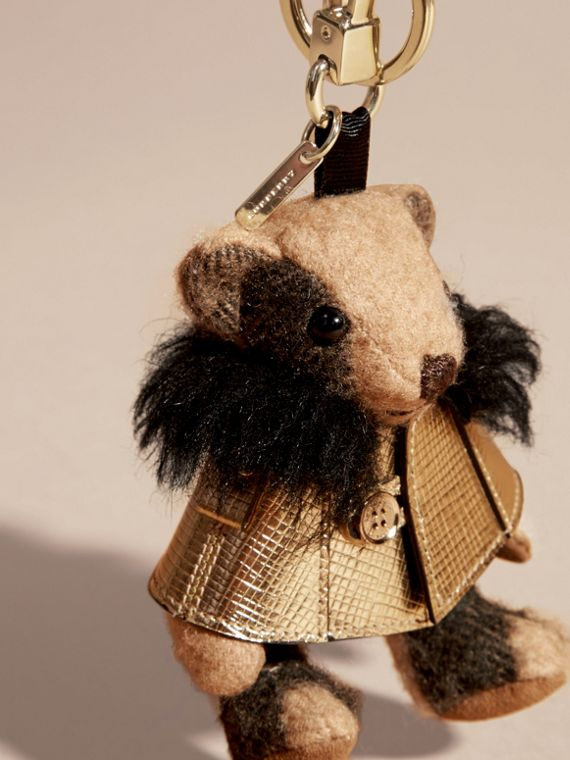 Thomas Bear Charm in Metallic Cape - cell image 3