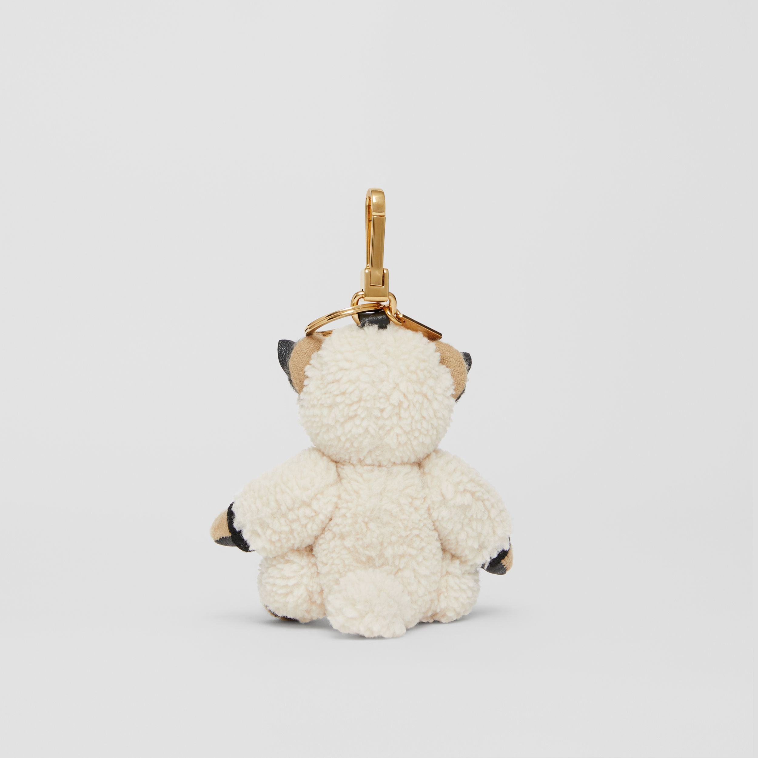 Thomas Bear Charm in Sheep Costume in Archive Beige | Burberry - 4