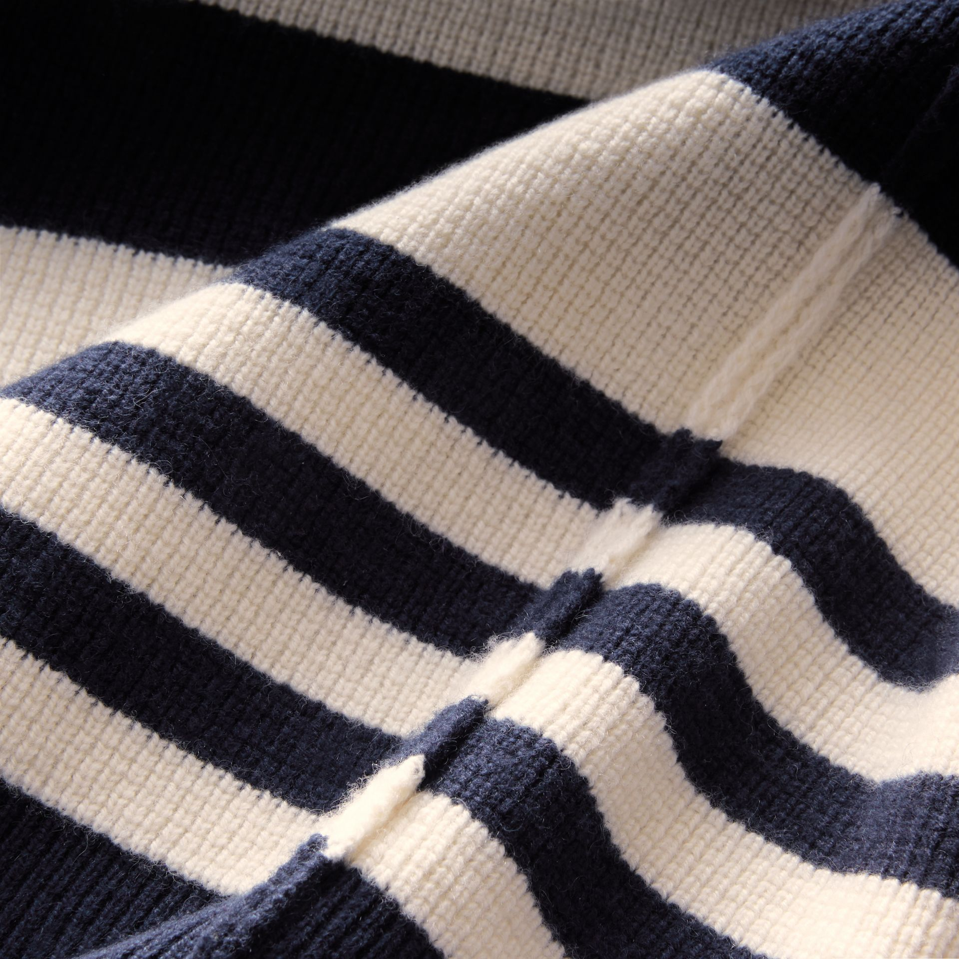 Striped Knitted Cashmere Roll-neck Sweater - Men | Burberry - gallery image 2