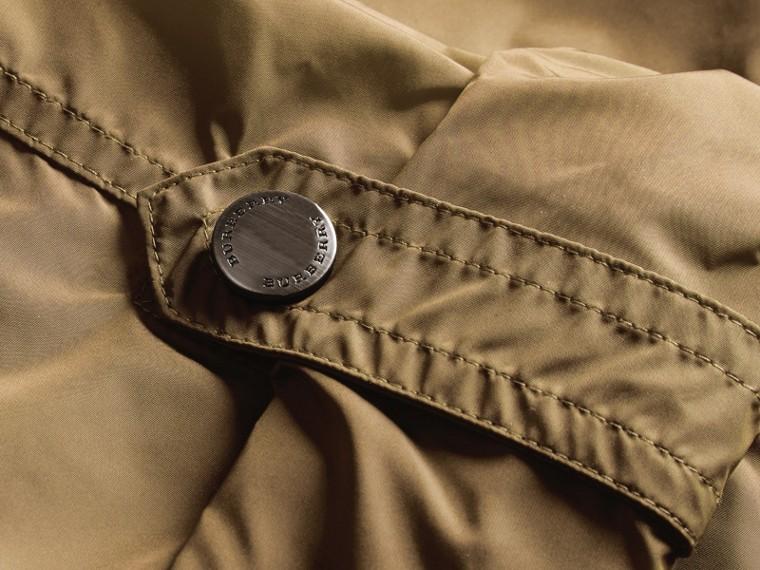 Showerproof Parka Jacket with Packaway Hood Sisal - cell image 1
