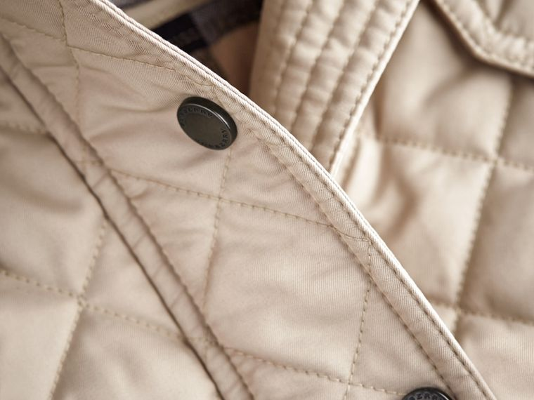 Quilted Field Jacket in Mink - Girl | Burberry - cell image 1