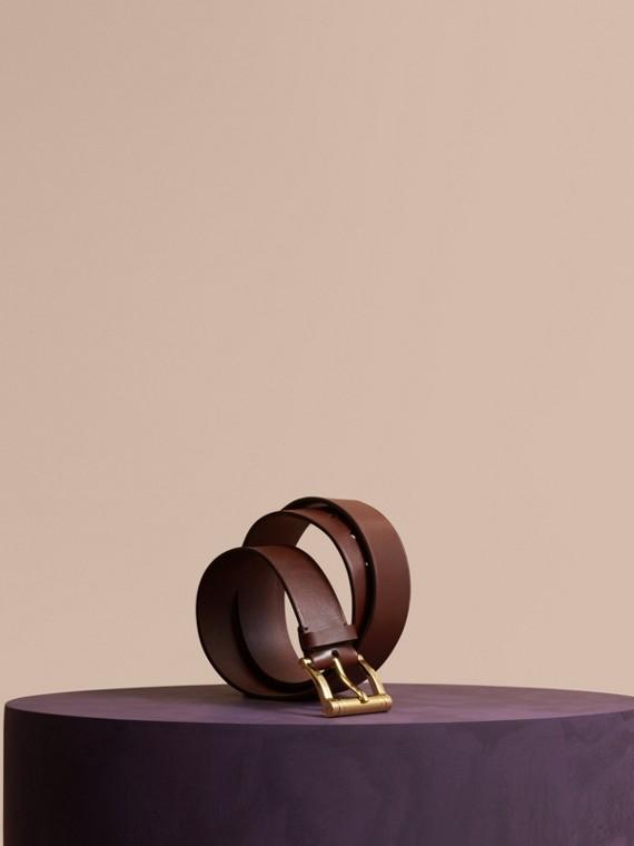 Bridle Leather Belt Tan