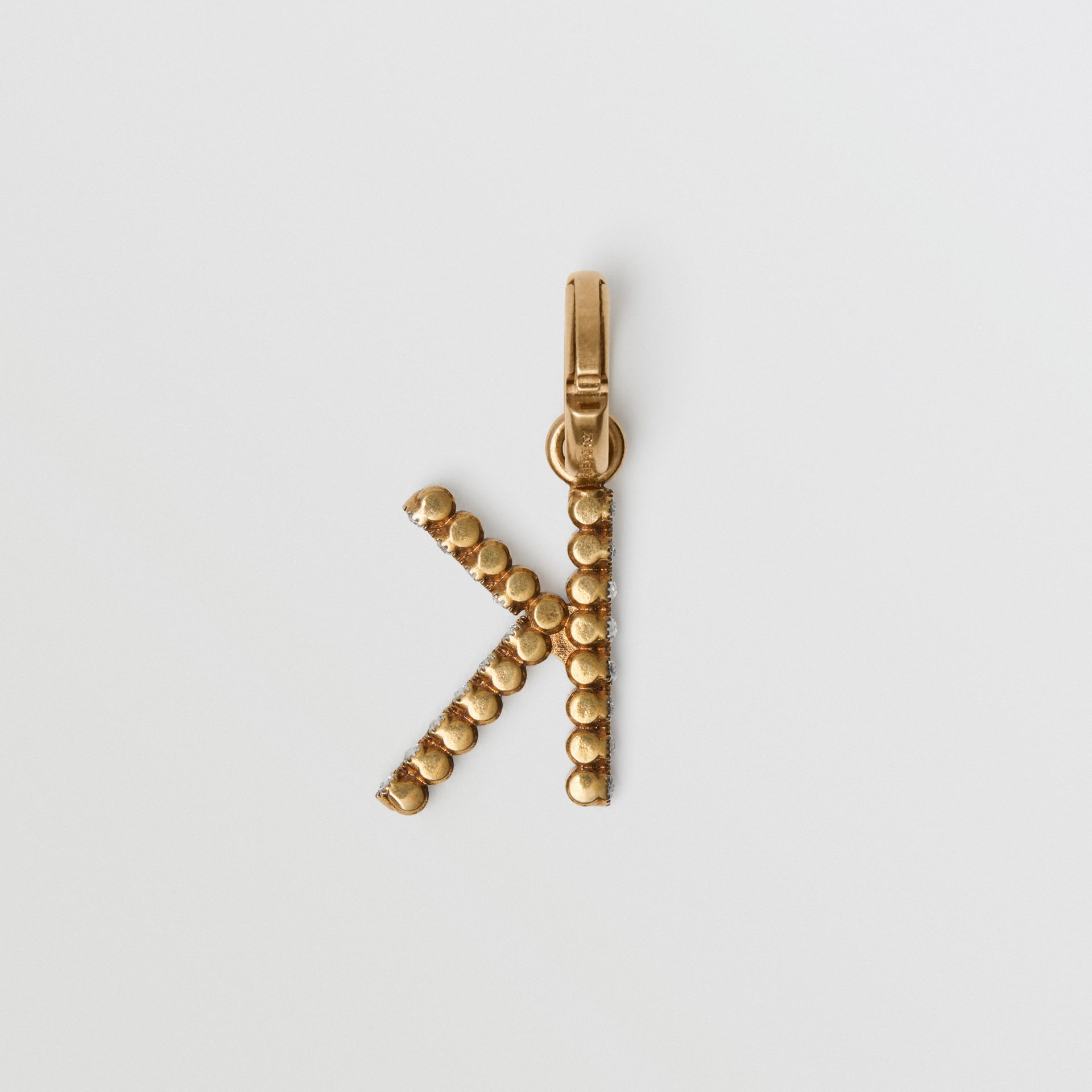 Crystal 'K' Alphabet Charm - Women | Burberry United States - gallery image 3