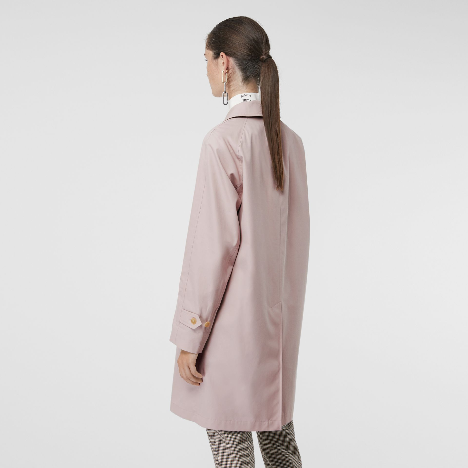 The Camden Car Coat in Ice Pink - Women | Burberry United Kingdom - gallery image 2
