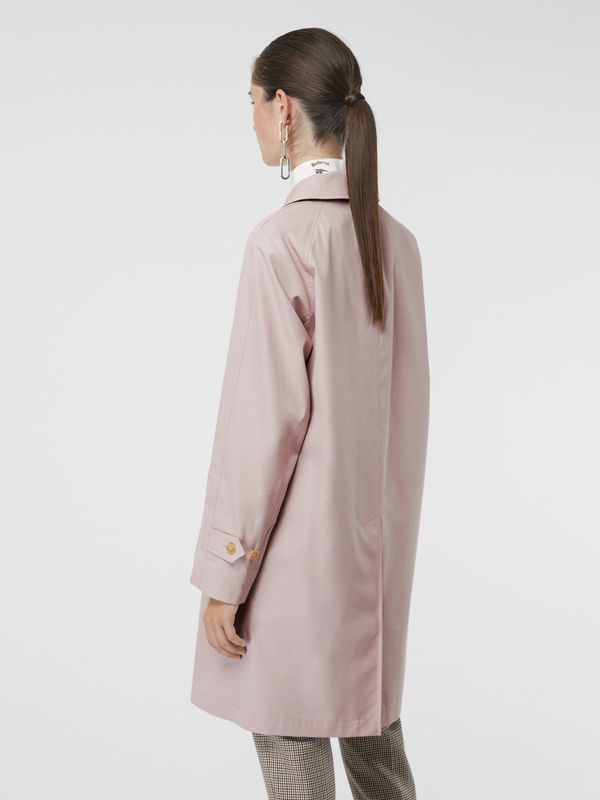 The Camden Car Coat in Ice Pink - Women | Burberry United Kingdom - cell image 2