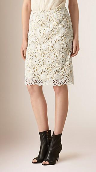 Cotton Macramé Skirt