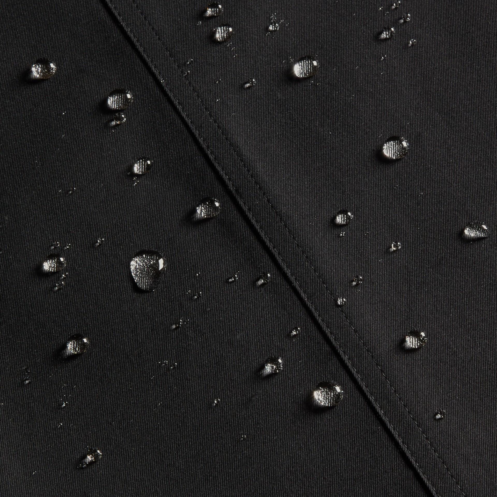 Noir The Westminster – Trench-coat Heritage long Noir - photo de la galerie 8
