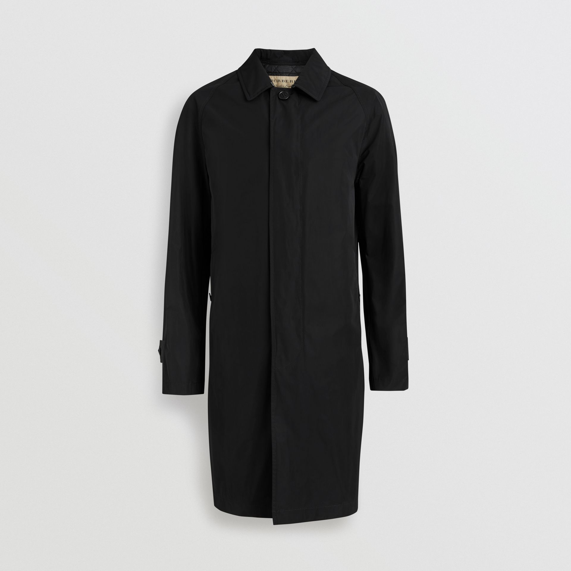 Shape-memory Taffeta Car Coat in Black - Men | Burberry - gallery image 3