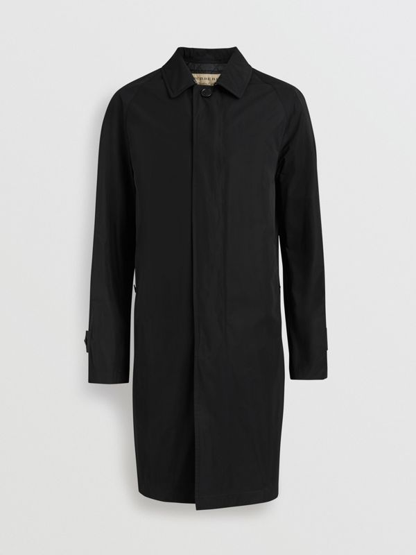 Shape-memory Taffeta Car Coat in Black - Men | Burberry Canada - cell image 3
