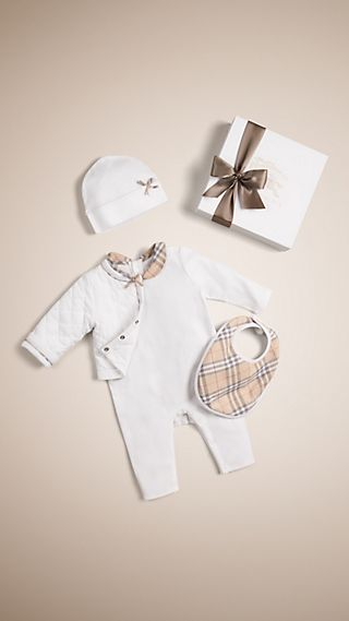 Cotton Four-piece Baby Gift Set