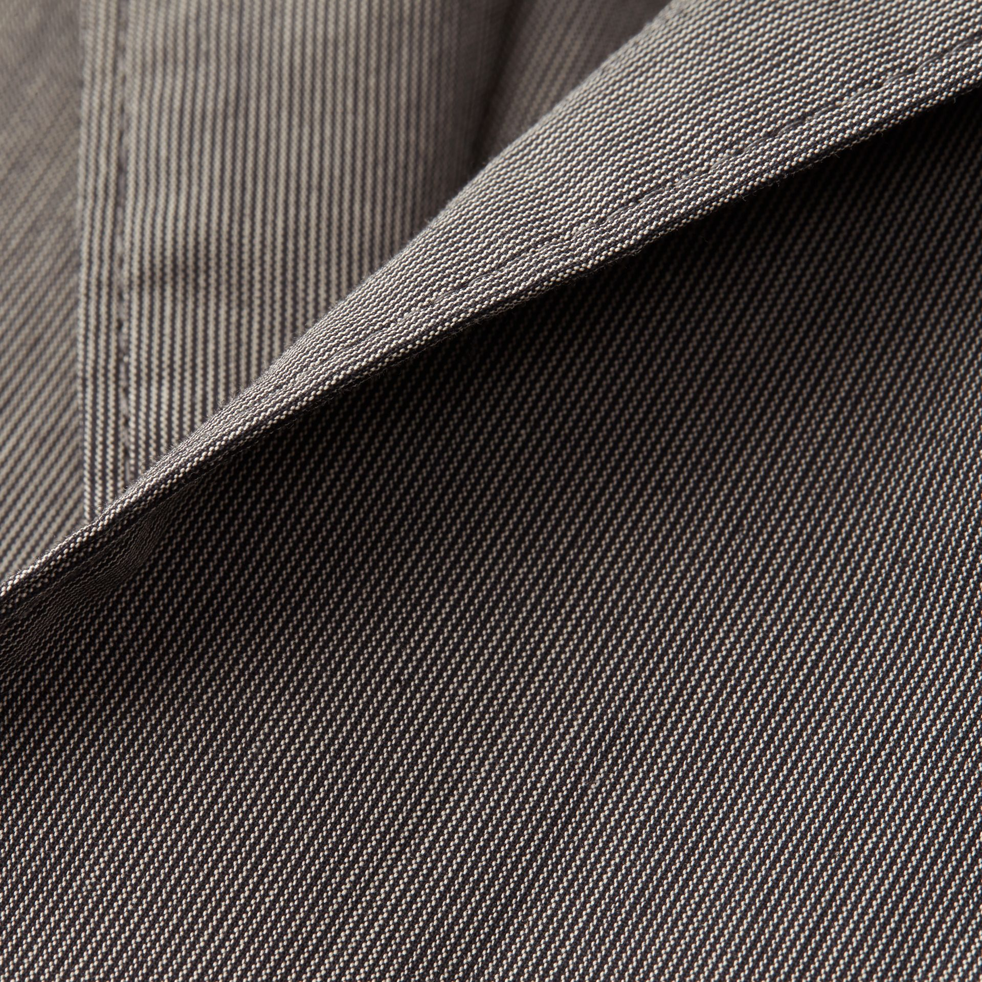 Dark grey Cotton Tailored Jacket - gallery image 2