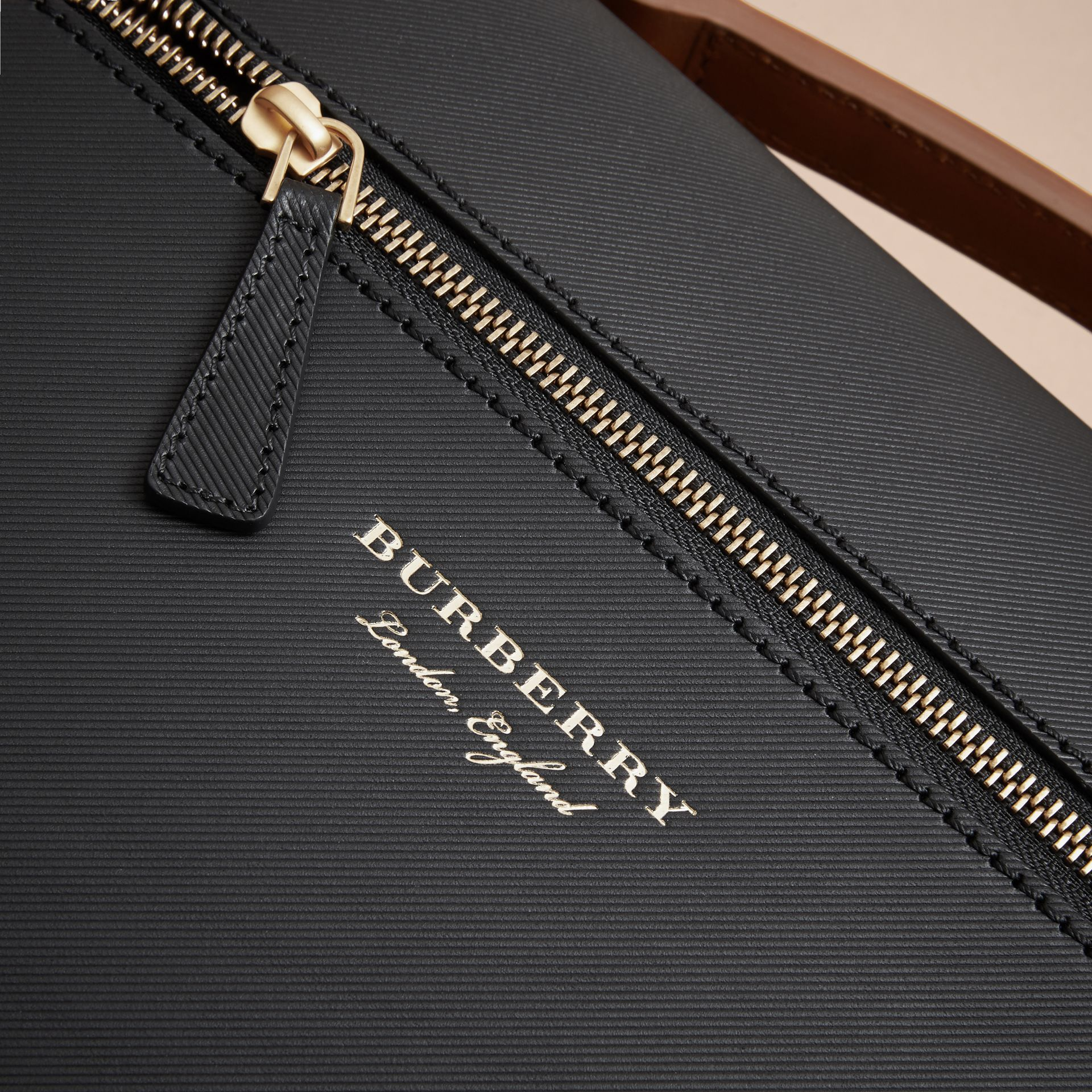 The Large DK88 Document Case in Black - Men | Burberry - gallery image 2