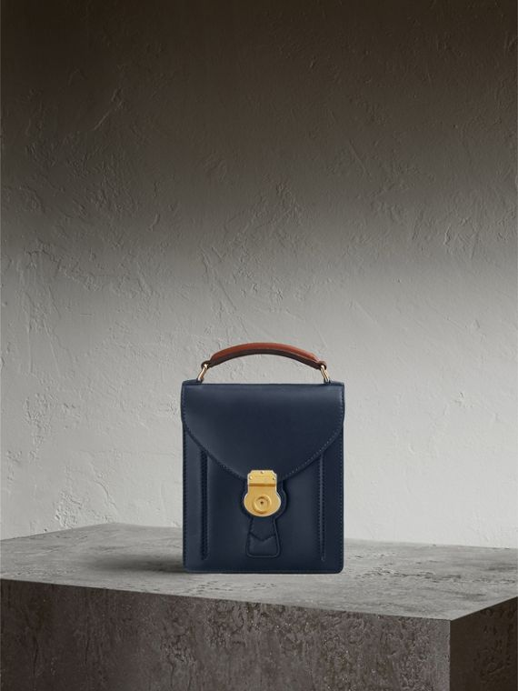 The Small DK88 Satchel Dark Navy