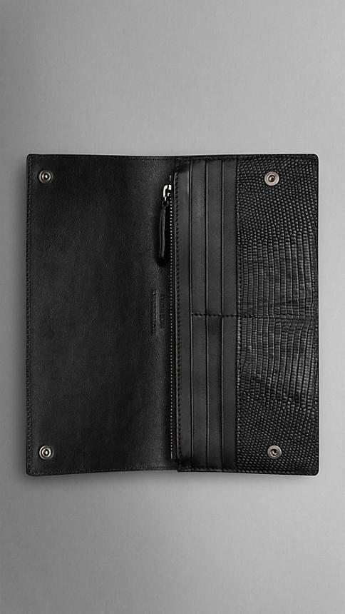 Black Lizard Continental Wallet - Image 4