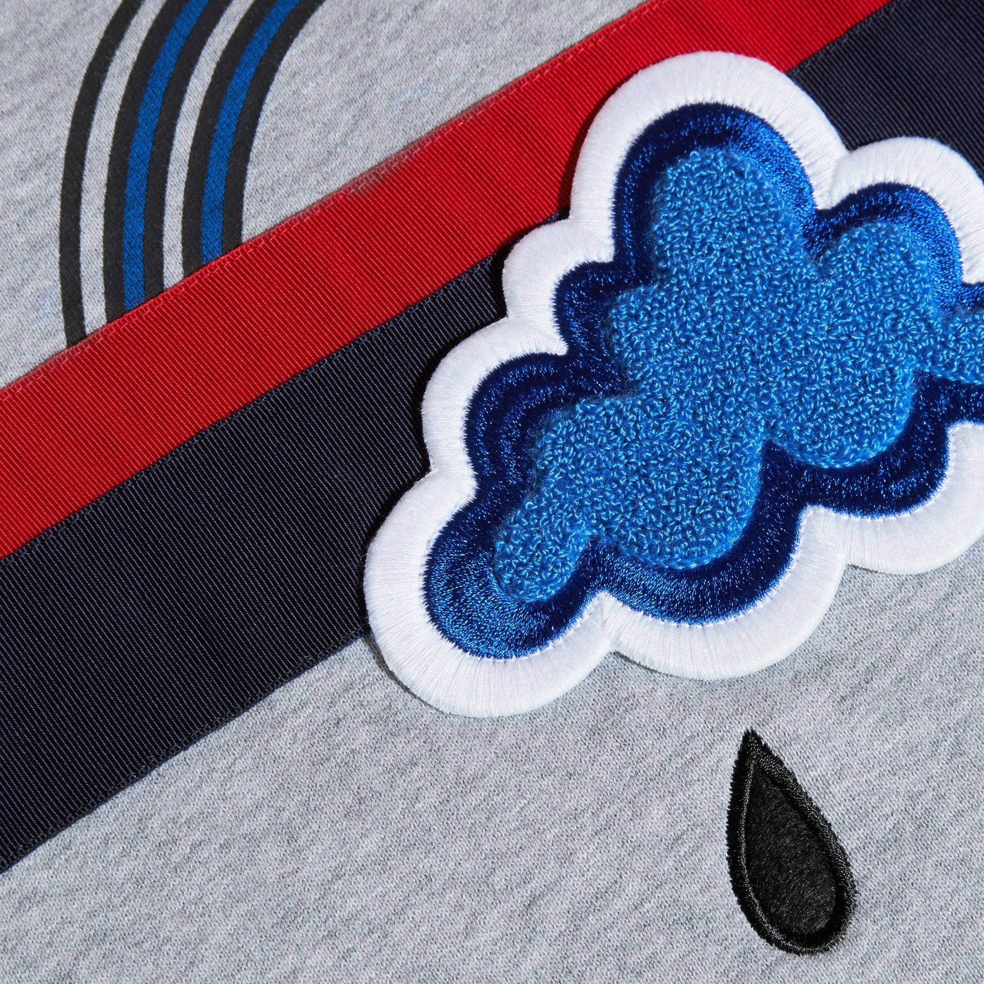 Appliquéd Weather Graphic Jersey Sweatshirt - gallery image 2