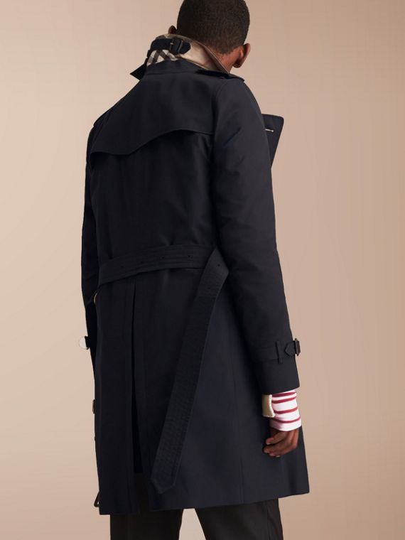 The Kensington – Long Heritage Trench Coat Navy - cell image 2