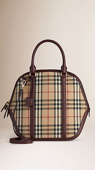 Sac The Orchard medium à motif Horseferry check
