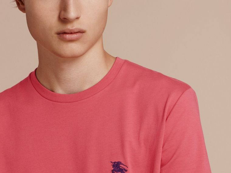Cotton Jersey T-shirt Dusky Pink - cell image 4