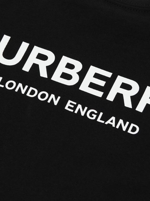 Baumwoll-T-Shirt mit Burberry-Logo (Schwarz) - Kinder | Burberry - cell image 1