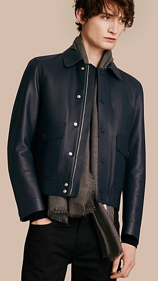 Smooth Lambskin Jacket