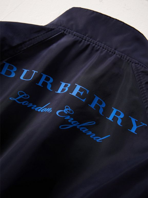 Lightweight Bomber Jacket in Navy | Burberry - cell image 1