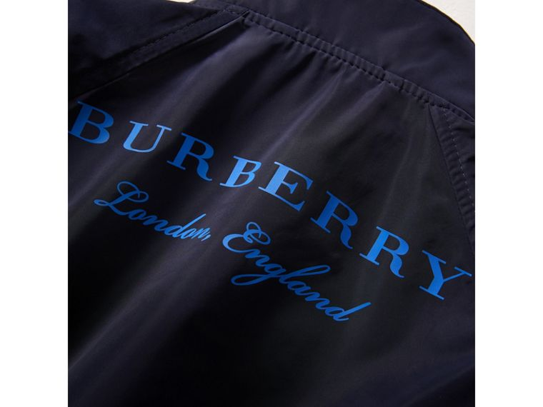 Lightweight Bomber Jacket in Navy - Boy | Burberry - cell image 1