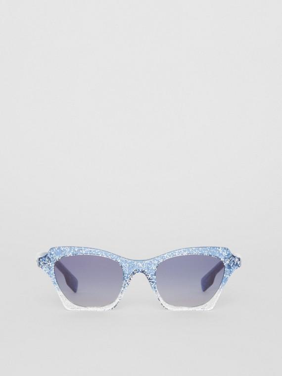 Butterfly-Sonnenbrille (Blau)