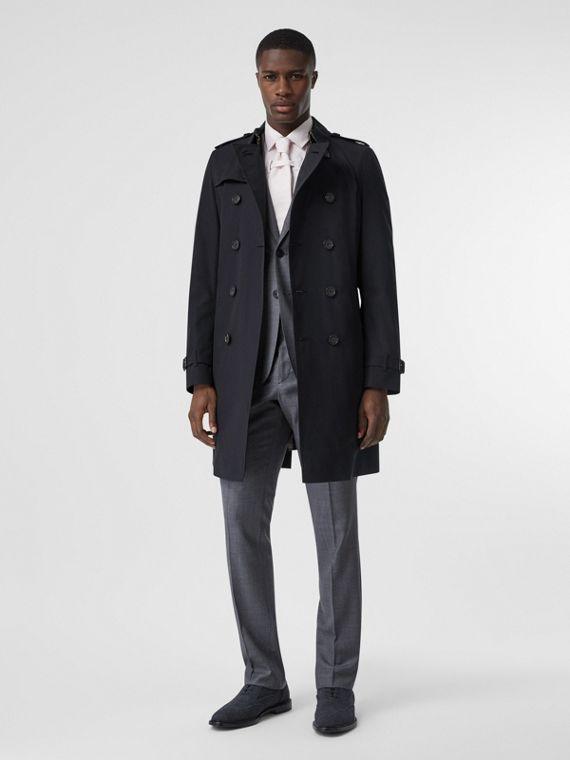 The Chelsea - Trench coat lungo (Navy)