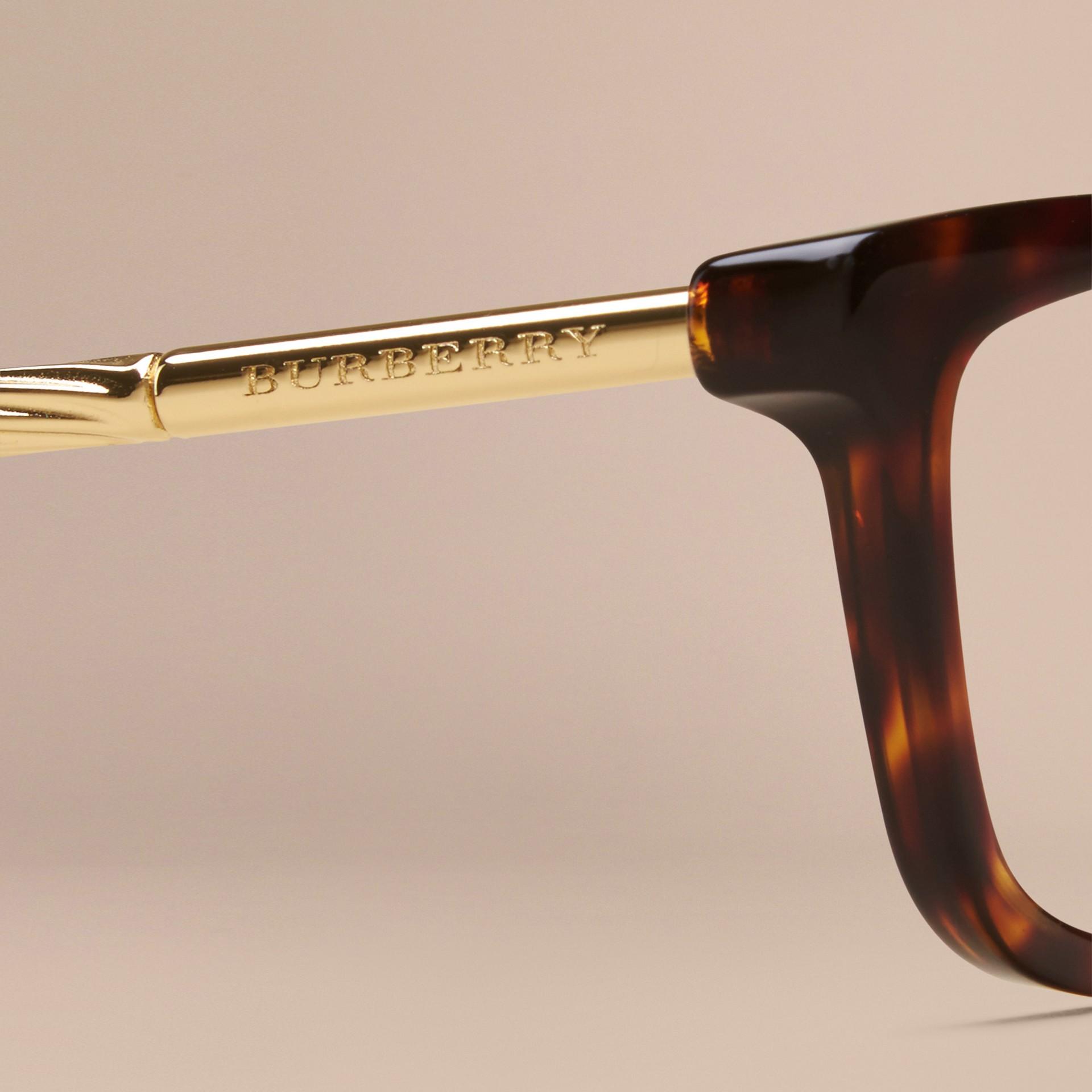 Metallic Detail Cat-eye Optical Frames - gallery image 5
