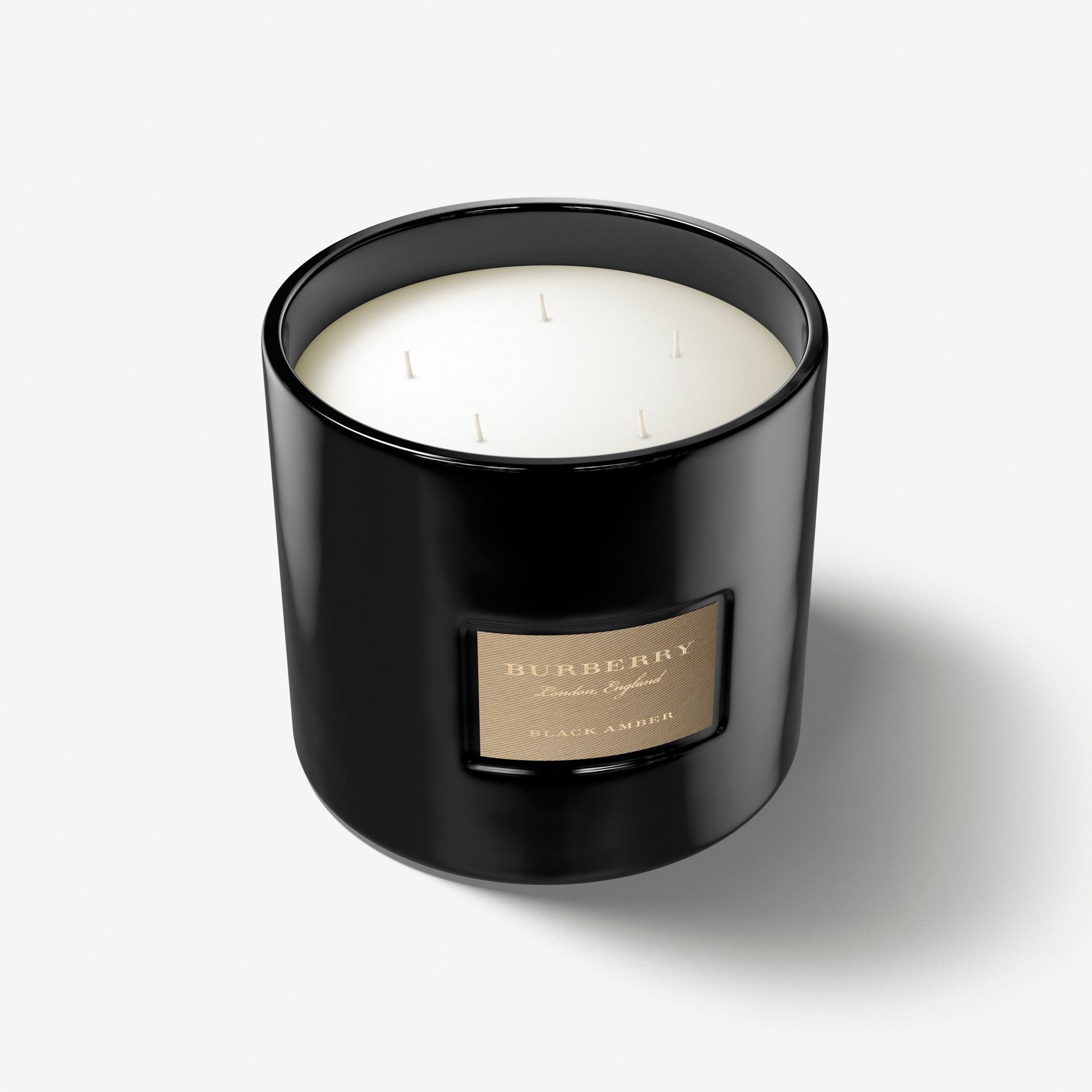 Black Amber Scented Candle – 2kg | Burberry - gallery image 1
