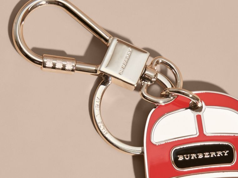Double-decker Bus Key Charm - cell image 1