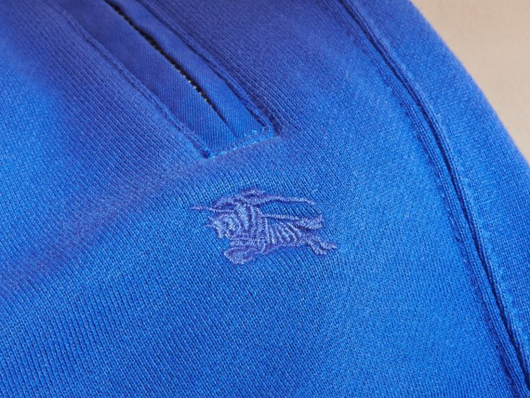 Drawcord Cotton Sweatpants Brilliant Blue - cell image 1