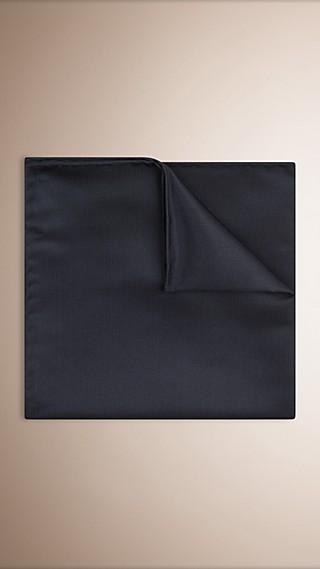 Lenço de bolso de seda