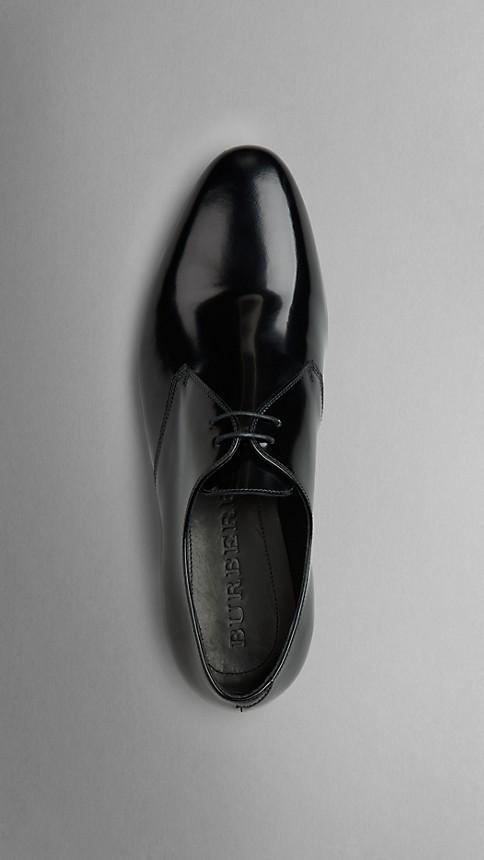 Noir Chaussures de cérémonie en cuir poli - Image 3