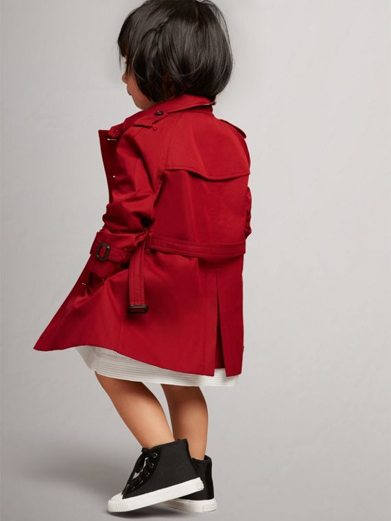 The Wiltshire – Heritage Trench Coat in Parade Red | Burberry Canada - cell image 3