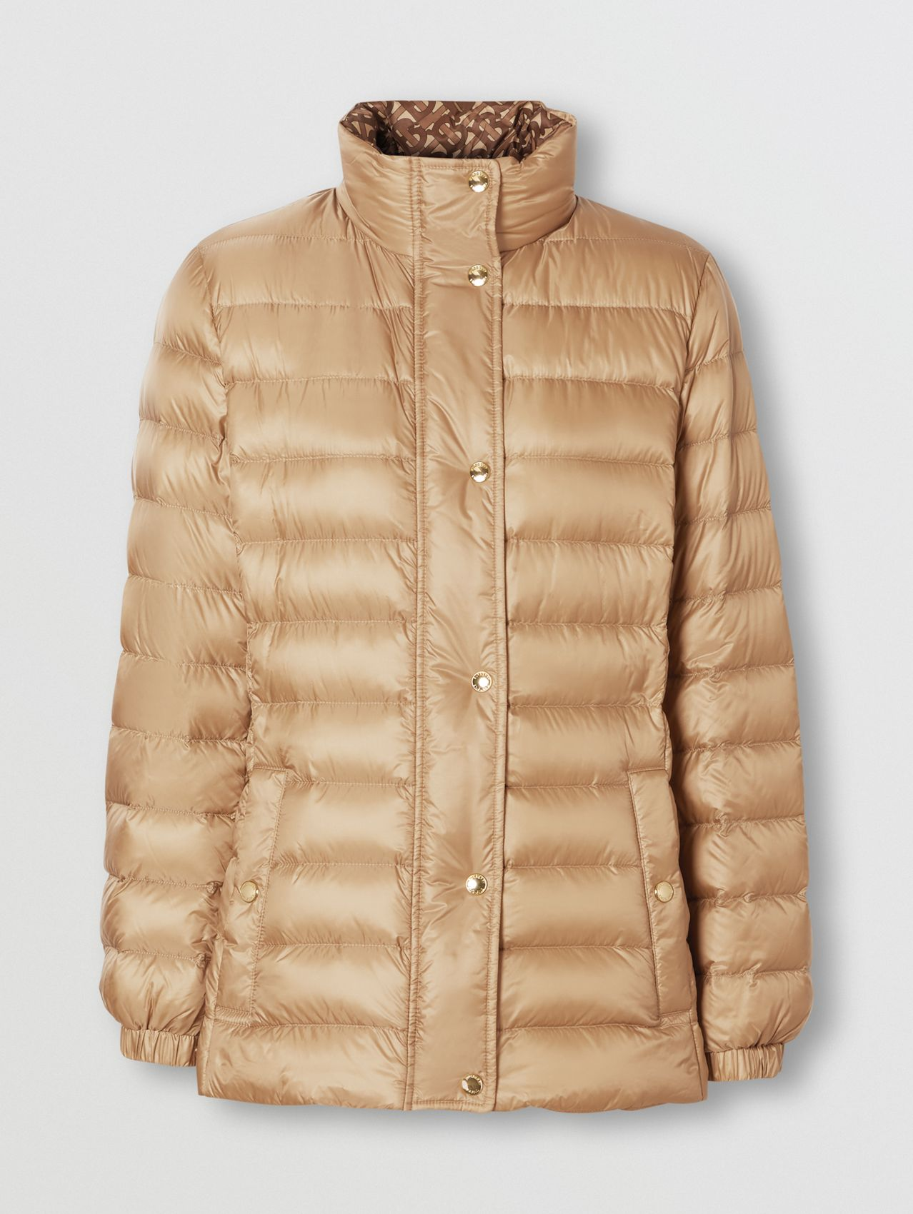 Monogram Print-lined Lightweight Puffer Jacket